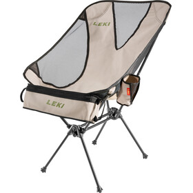 LEKI Chiller Campingstol beige/sort